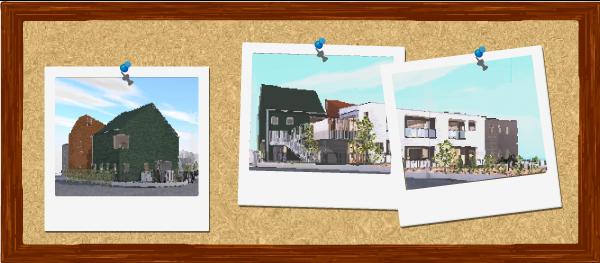 建築パース図